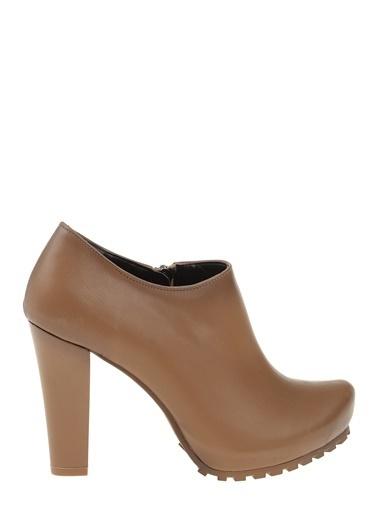 Kalın Topuklu Ayakkabı-Bambi